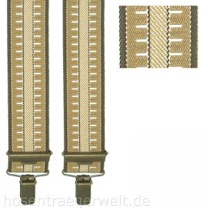 Hosenträger 4166 mit klassischem Muster