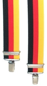 H-Form-Hosenträger 2786 in Nationalfarben