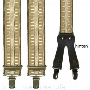 Hosenträger 4875 mit klassischem Muster