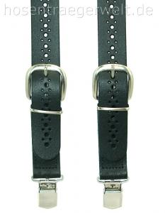 Lederhosenträger 4114, hinten mit elastischem Band
